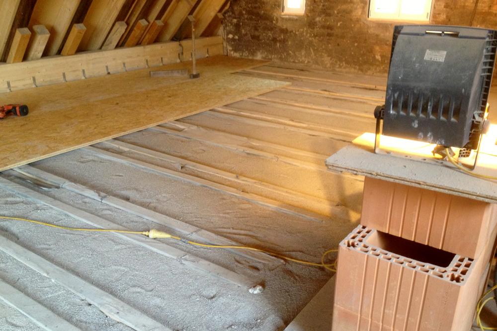 Holzbalkendecke Sanieren dachsanierung altbausanierung